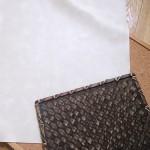 【日記】撮影対象背景用にアイボリー色の合皮を買いました